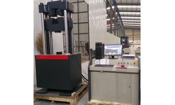 WAW-600B电液伺服液压万能试验机