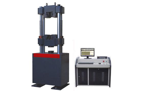 WAW-100B电液伺服液压万能试验机